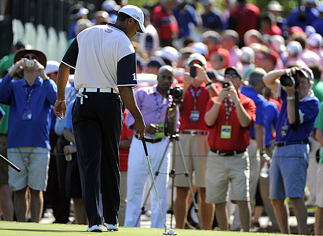 Following outings for the Tavistock Cup this week, Woods will seek his eighth win at Bay Hill. (AP)