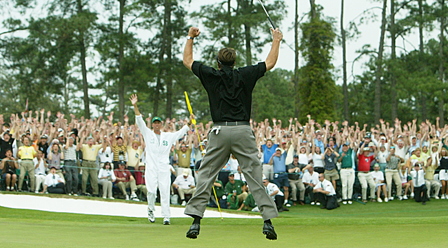 Phil Mickelson was riding high after winning his first major at the Masters. (Getty Images)