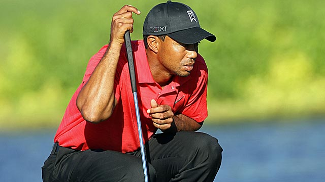 Tiger Woods leads the Bay Hill tournament for putting percentage inside ten feet. (Getty Images)