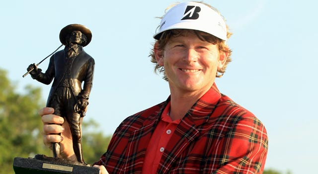 Brandt Snedeker beat Luke Donald in a playoff to win last year's event. (Getty Images)