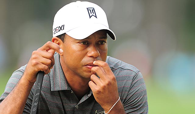 Tiger Woods needs a big round Friday to avoid consecutive cuts for the first time as a pro. (AP)