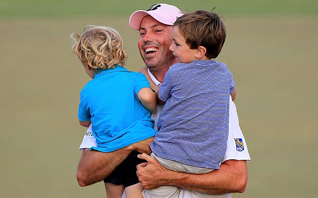Matt Kuchar has a competitive streak, but rarely shows it in public. (Getty Images)
