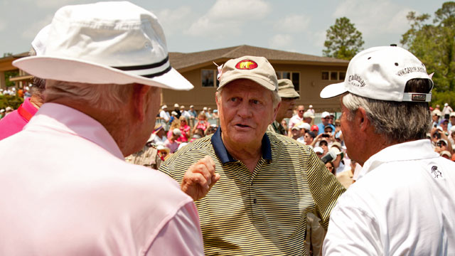 Jack Nicklaus got his first win at the U.S. Open and his last at the 1986 Masters. (Getty Images)