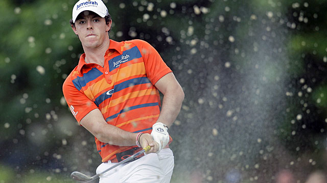 Rory McIlroy birdies three of his final four holes to match his lowest PGA Tour round this year. (AP)