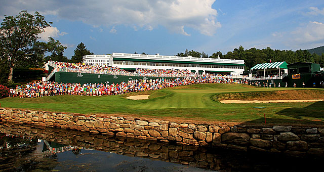 The Greenbrier resort extended its contract to host a PGA Tour event through 2021. (Getty Images)