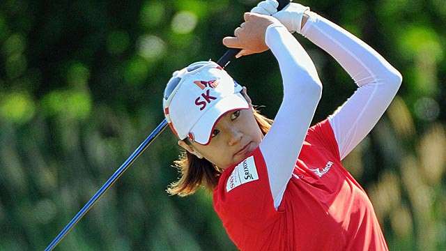 Na Yeon Choi's 8-under 65 ties her for the lowest third round in U.S. Women's Open history. (US Presswire)