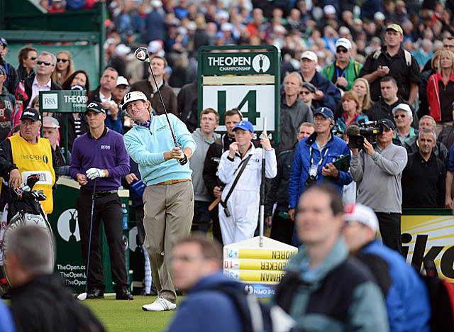 Despite missing 40 percent of the fairways, Snedeker is hitting nearly 90 percent of the greens. (Getty Images)