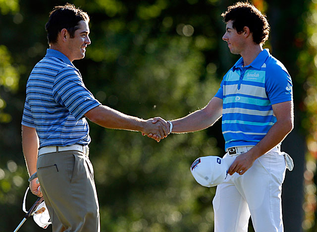 McIlroy reaches the No. 1 spot in the FedEx Cup points standings with his win in Boston. (Getty Images)