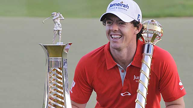McIlroy won four PGA events in 2012 and captured his second major. (AP)
