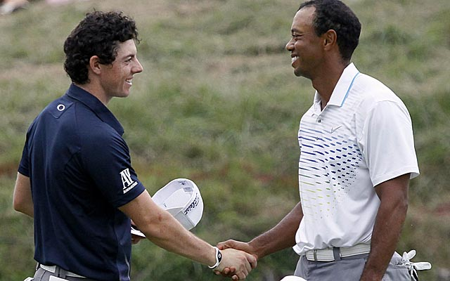 McIlroy's rumored deal with Nike will put him in the endorsement territory of Tiger Woods. (AP)