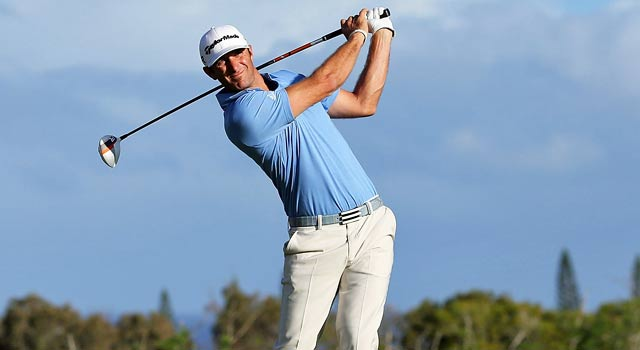 Dustin Johnson finishes with a 5-under 68 to take the Tournament of Champions. (Getty Images)