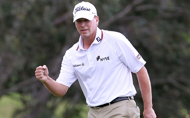 Steve Stricker helped Tiger Woods fix his putting game and is playing well on the PGA Tour. (Getty Images)
