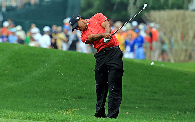 Woods extends his lead to three shots before the final round is called at Bay Hill. (Getty Images)