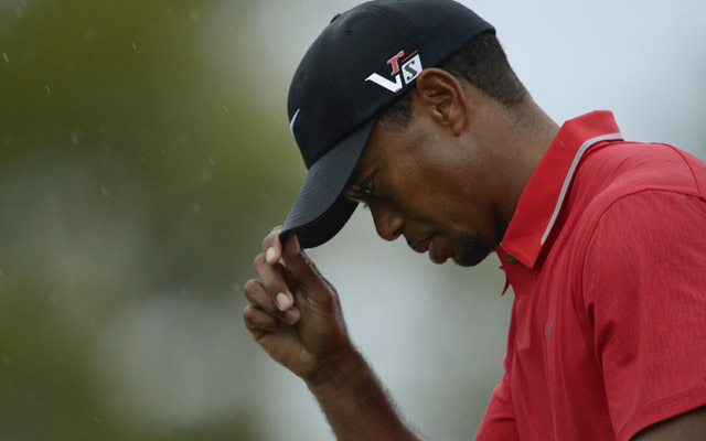 Tiger Woods finished in a tie for fourth place after a rocky weekend. (USATSI)