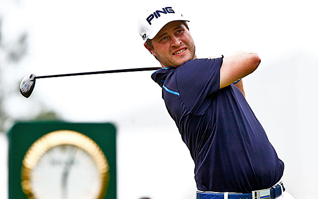 While Tiger Woods and Sergio Garcia feud, David Lingmerth (above) takes the lead. (USATSI)