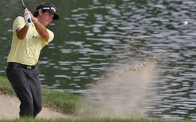 The back nine keeps Bubba Watson from pulling away, inducing three bogeys in six holes. (USATSI)