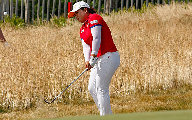 Inbee Park shoots 1-under 71 on Saturday in harsh conditions and is 10 under for the tournament. (USATSI)