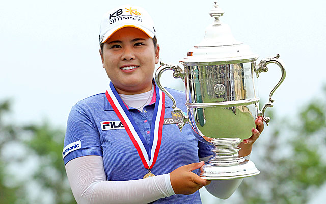 Park claims her second trophy at the US Women's Open. (USATSI)