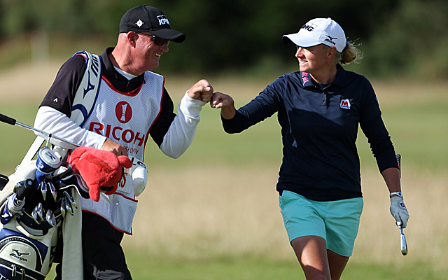 Stacy Lewis continues her dominance at St. Andrews, this time to win the Women's British Open. (Getty Images)