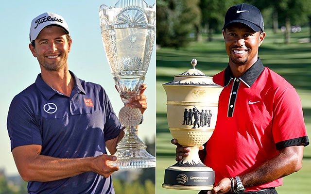 Adam Scott and Tiger Woods are going back and forth for the 2013 Player of the Year award. (USATSI)