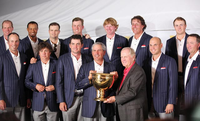 The United States improves to 7-1-1 in Presidents Cup history, and achieves its fifth consecutive victory.