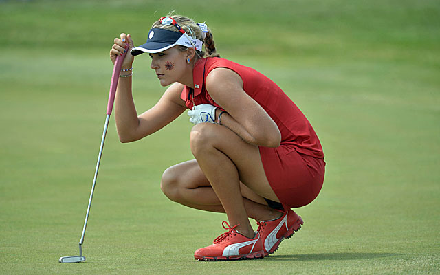 Lexi Thompson fires three straight birdies to put her back in command. (USATSI)