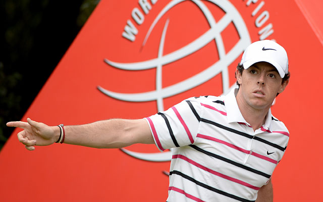 Days after winning an exhibition vs. Tiger Woods, Rory McIlroy opens with eight birdies. (Getty Images)