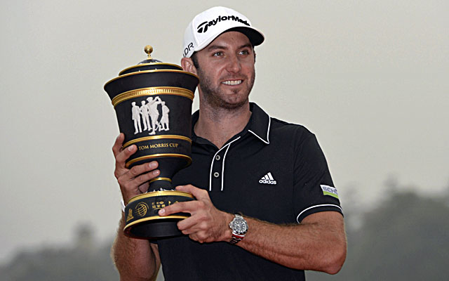 Dustin Johnson says the victory in Shanghai is 'the biggest' of his career. (Getty Images)