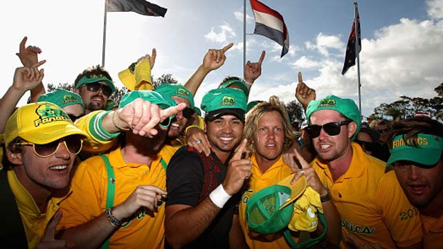 Jason Day turns what could have been a week of mourning into an Aussie celebration. (Getty Images)