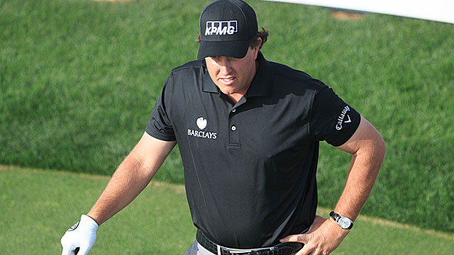 Defending event winner Phil Mickelson says his back is fine but his 'game was a little rusty.' (USATSI)