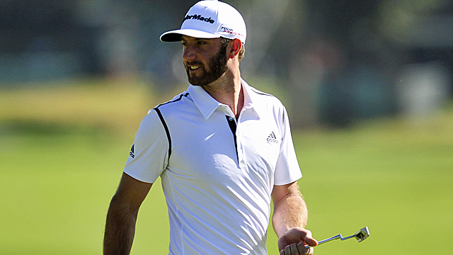 Dustin Johnson gets off to a fast start at Riviera. (USATSI)