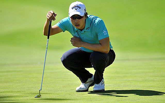Bae Sang-moon has another bogey-free round to hold the lead at the Northern Trust Open. (USATSI)