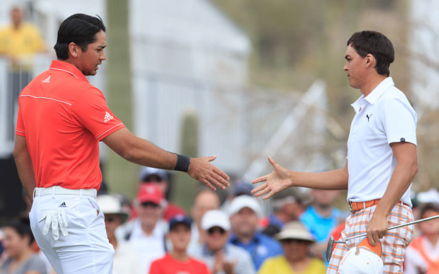 Jason Day advances to his first Match Play final with a 3-and-2 victory over Rickie Fowler. (USATSI)