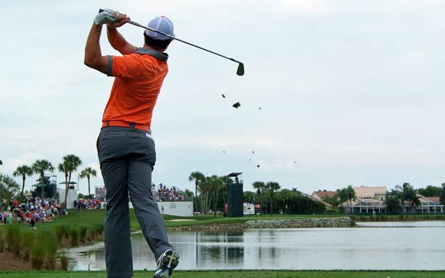 Rory McIlroy shoots a blistering 63 on the first day of the Honda Classic. (Getty Images)
