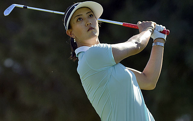 Michelle Wie sits just one shot back of the lead. (USATSI)