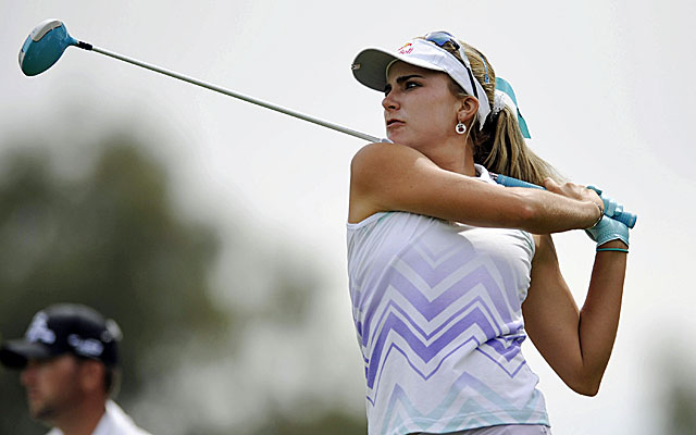 Lexi Thompson shares the lead with Se Ri Pak after two rounds of the Kraft Nabisco. (USATSI)