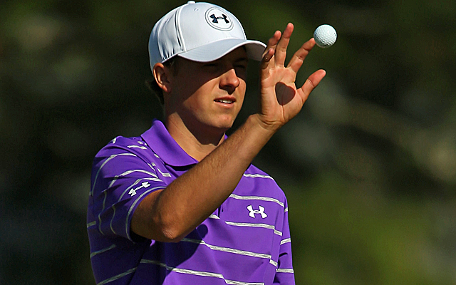 Jordan Spieth is two shots off the lead. (Getty Images)