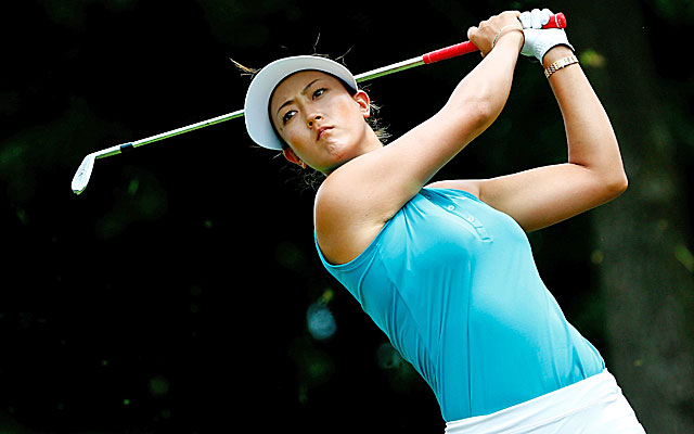 A week after winning the US Open, Michelle Wie is back in contention in Arkansas. (Getty Images)