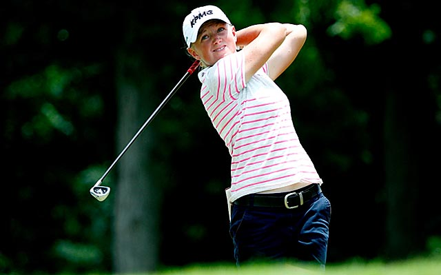 Former world No. 1 Stacy Lewis rallies to earn her third victory in the past nine weeks. (Getty Images)