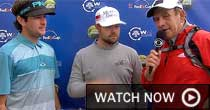 Bubba Watson, Ryan Moore (screen grab)