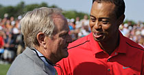 Jack Nicklaus, Tiger Woods (Getty Images)