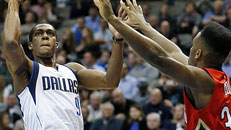 Mavs get past Pelicans