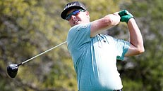 Hoffman leads Texas Open