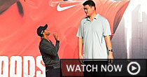 Tiger and Yao Ming