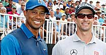 Tiger Woods, Adam Scott (Getty Images)