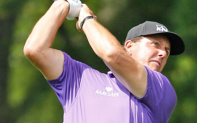 Phil Mickelson finished the first round four strokes behind the leaders. (USATSI)