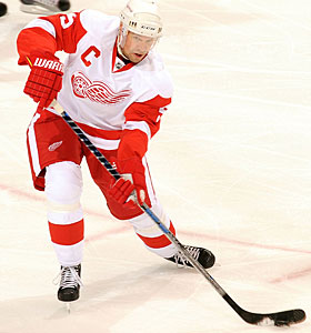 Nicklas Lidstrom scored nine goals and had 40 assists in 82 games last season. (Getty Images)