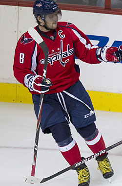 Ovechkin looks for much better things than last season's playoff disappointment. (AP)