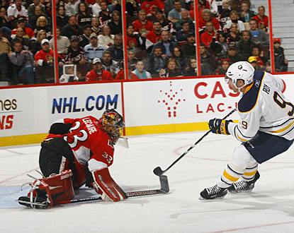 'We wanted to come out and make a statement ... and I thought we did that,' Derek Roy says. (Getty Images)