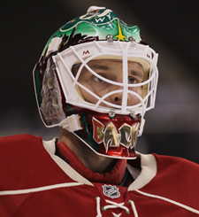 Minnesota's success greatly depends on the play of G Niklas Backstrom. (Getty Images)